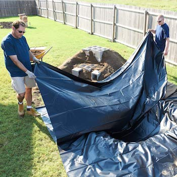 flexible pond liner