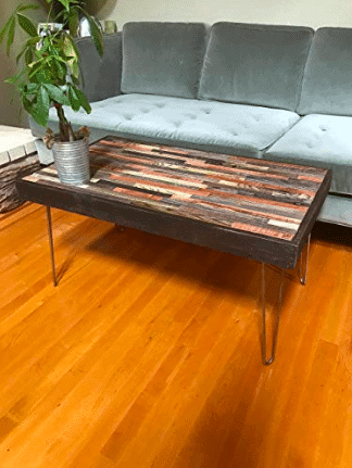 Plank & Nail coffee table