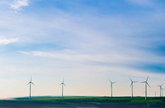 wind-turbine farm