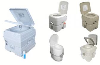 Portable toilet reviews