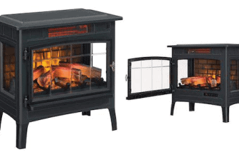 Duraflame quartz infrared space heater