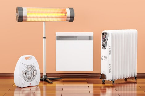 infrared heating devices