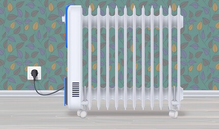 oil-filled electrical radiator