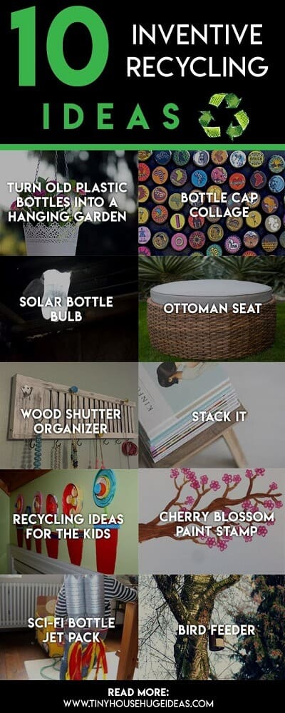 inventive recycling ideas