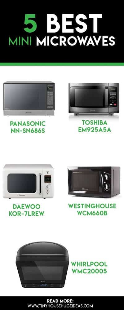 5 Best Mini Microwaves - Recommendations & Buyer's Guide
