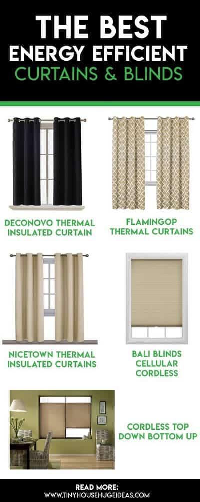 energy efficient curtains & blinds