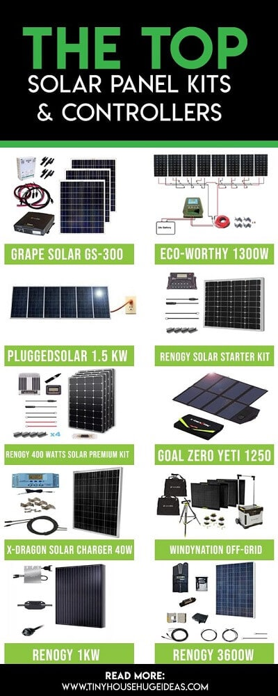 solar panel kits & controllers