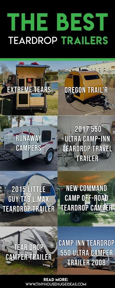 The Best Teardrop Trailers - Tiny House, Huge Ideas