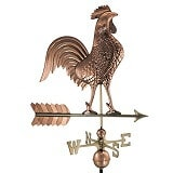 Good Directions Copper Rooster Weather Vane
