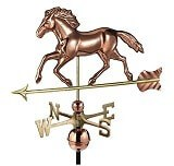 Good Directions Running Horse Smithsonian Weather Vane