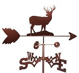 SWEN Products Metal Deer Weathervane