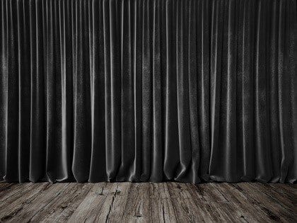 dark grey insulating curtains