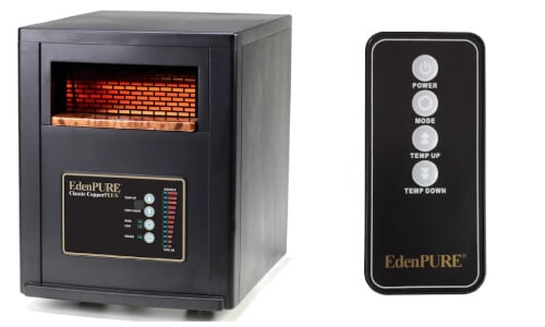 Edenpure infrared space heater