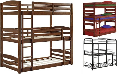 Triple bunk bed guide