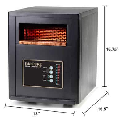 edenpure portable space heater