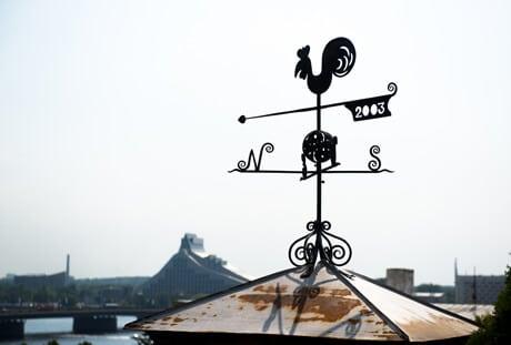 rooftop windvane