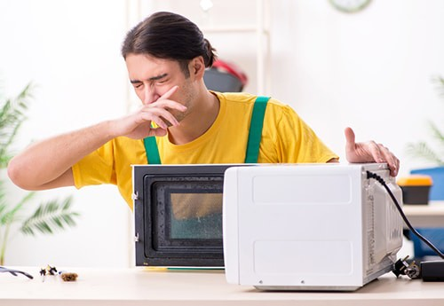 Microwave smells