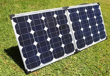 small solar panel array