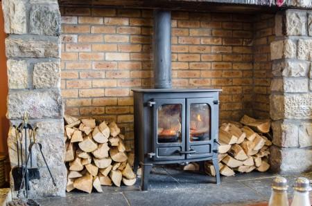 Old Wood Burning Stove