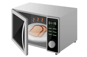 How to Get the Burnt Smell Out of a Microwave