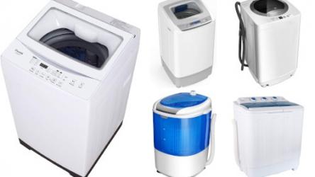 5 Awesome Portable Washing Machines